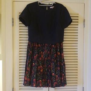 Ted Baker size 2 cherry print dress